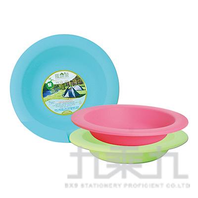 環保野餐盤3入 P-866