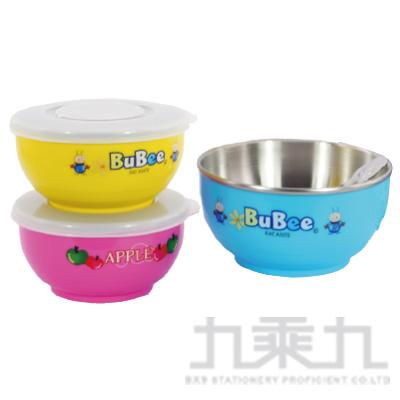 豆豆316雙層碗(附匙)塑蓋11.5cm Y-235S