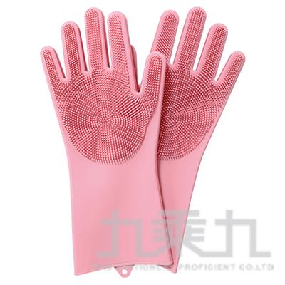 韓國硅膠魔術手套一雙/4色