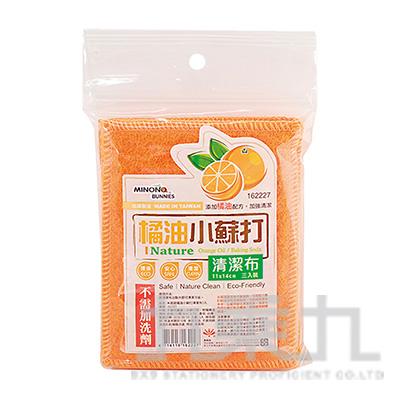 米諾諾橘油小蘇打清潔布 162227