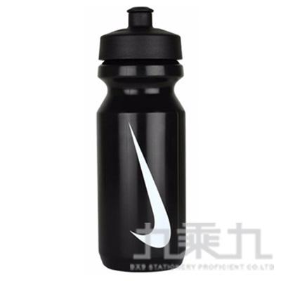 NIKE 大嘴巴水壺650ml-黑/白勾