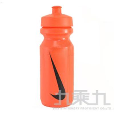 NIKE 大嘴巴水壺650ml-橘/黑勾