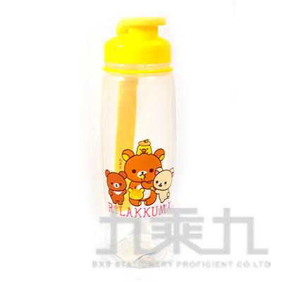 拉拉熊吊帶式PP水壺700CC(茶小熊黃) RK54374A