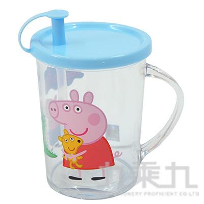 佩佩豬 吸管杯-藍版 PP52391A