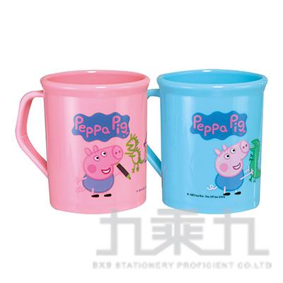 佩佩豬 PP300cc圓筒水杯粉版