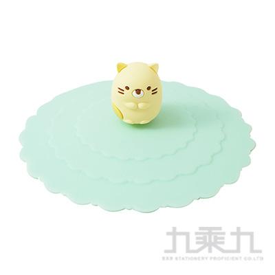 角落夥伴環保魔法防漏杯蓋-貓咪綠 SG52872D