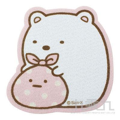 角落小夥伴毛氈布杯墊-白熊版 SG67631B