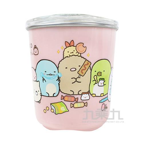 角落小夥伴隔熱杯(附蓋)糖果粉 SG52901B