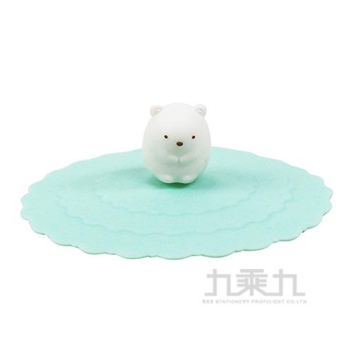 角落夥伴環保魔法防漏杯蓋-白熊綠 SG52873D