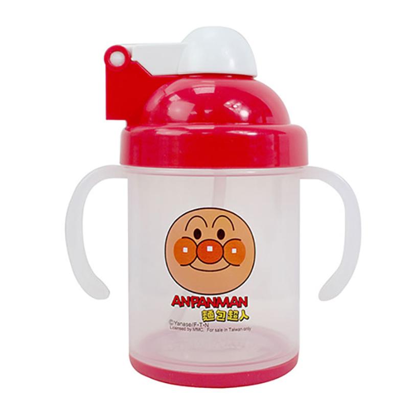 麵包超人防滑自動吸管杯-紅版 AN54901A
