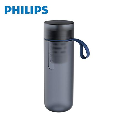 飛利浦微濾隨身濾水瓶-酷藍 AWP2712BL