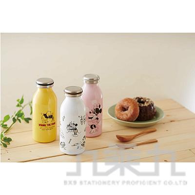 Doshisha MOSH牛奶瓶保溫瓶350ml-米妮