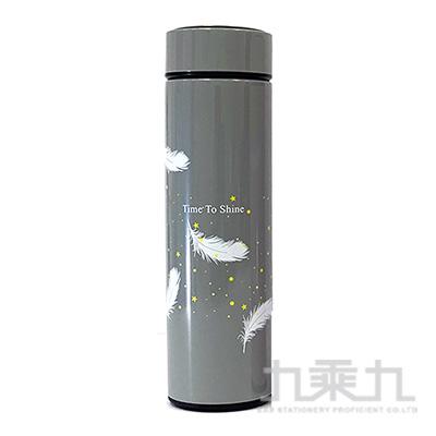 羽毛(灰)500ml保溫杯 GF020Z-01