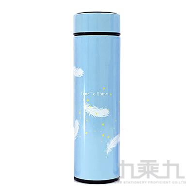 羽毛(藍)500ml保溫杯 GF020Z-03