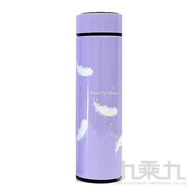 羽毛(紫)500ml保溫杯 GF020Z-04