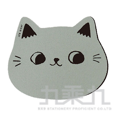 O-cat貓咪杯墊-灰