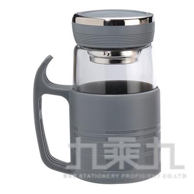 綠貝沁新玻璃杯480ml(灰) GBG-291