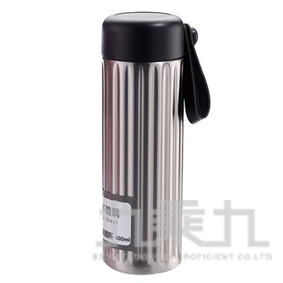綠貝316不鏽鋼保溫希臘杯400ml/銀 GBS-322