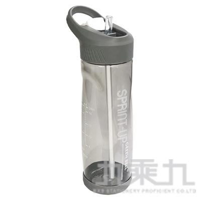 綠貝極速運動水壺700ml-灰 GBP-417