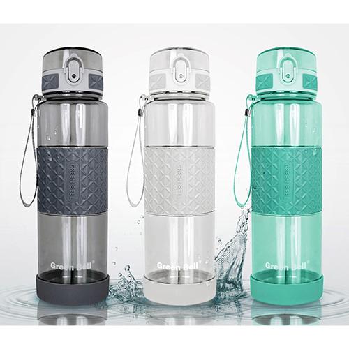 綠貝Tritan果漾彈蓋水壺 1000cc