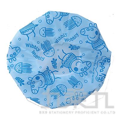 佩佩豬浴帽藍版