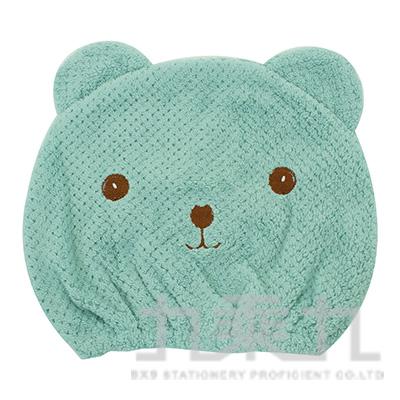 小熊乾髮帽 M-6697(多款隨機)