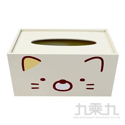 角落小夥伴木製面紙盒-貓咪版 SG62281B