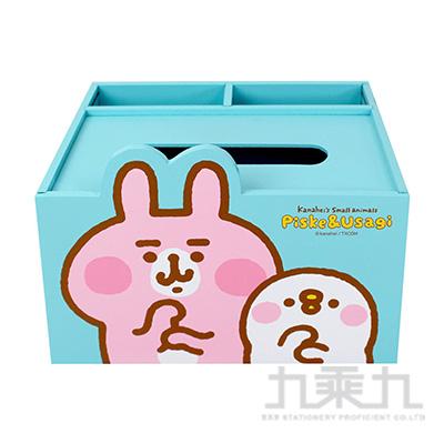 卡娜赫拉造型置物面紙盒-藍 KS62441B