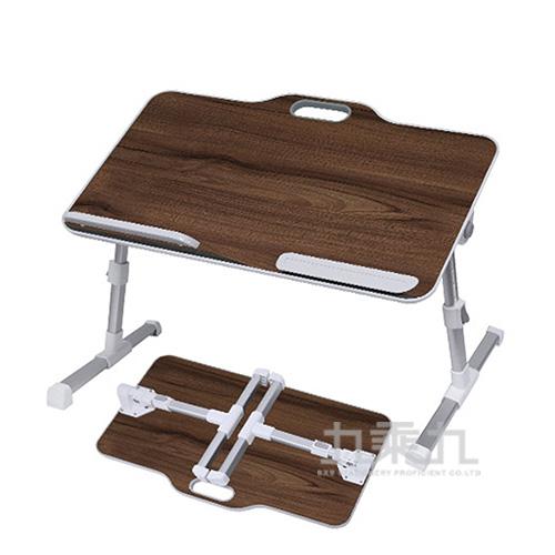 Hawk T558手提式多功能摺疊桌(黑柚木)