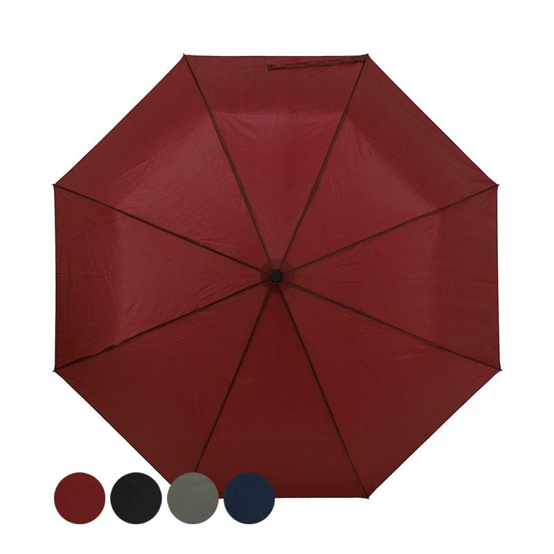 三折經濟傘(灰/紅/黑/藍)(款式隨機出貨) TW3008S