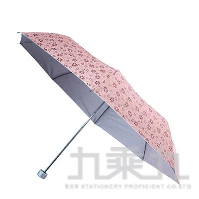 KINYO KU-9050三折銀膠晴雨傘(圓點C/印花F/格紋L)(款式隨機出貨)