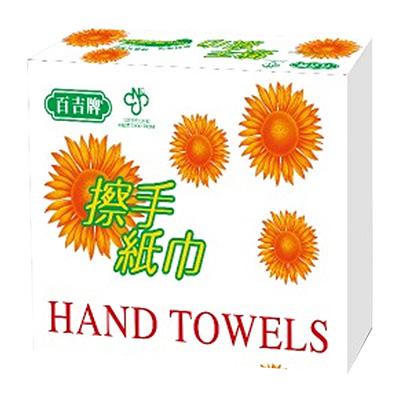 百吉牌-擦手紙巾150張*20包/箱) 471