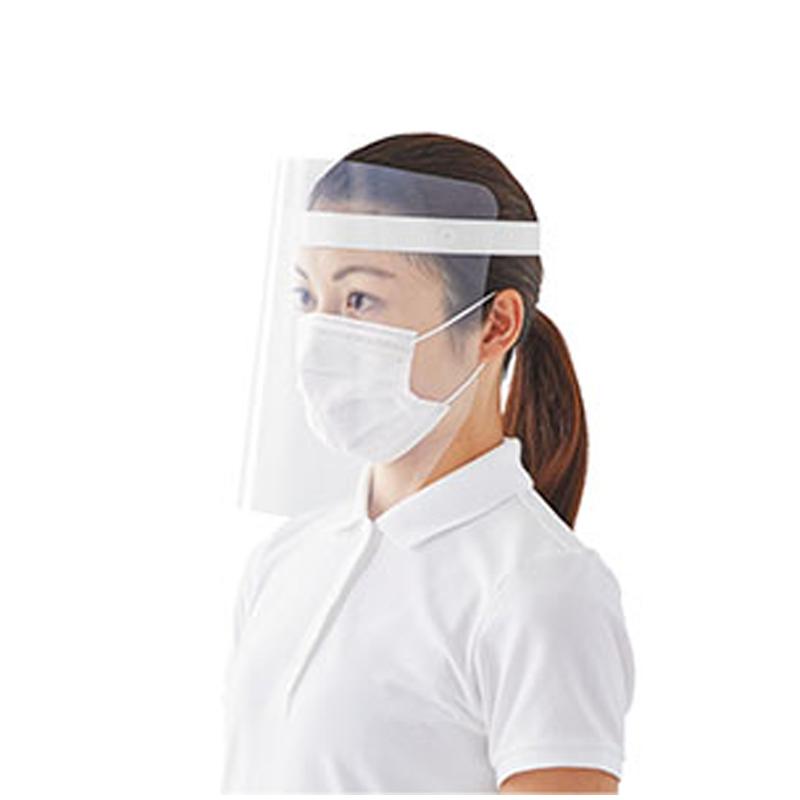 PLUS防霧面罩-白灰色(10入)