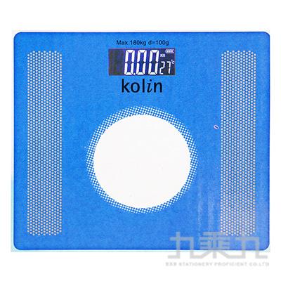 歌林超薄電子體重計 KWN-DLW801(顏色隨機)