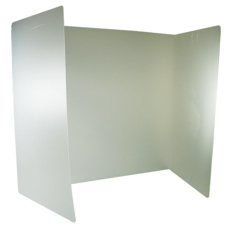 三折式防護隔板
