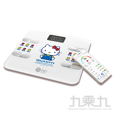 Hello Kitty iNO藍牙體重計(白) CB760