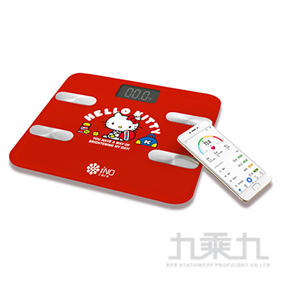 Hello Kitty iNO藍牙體重計(紅) CB760