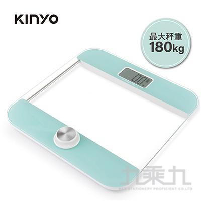 KINYO-環保免電池體重計 DS6587