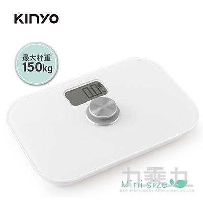 KINYO-環保免電池迷你體重計 DS6588