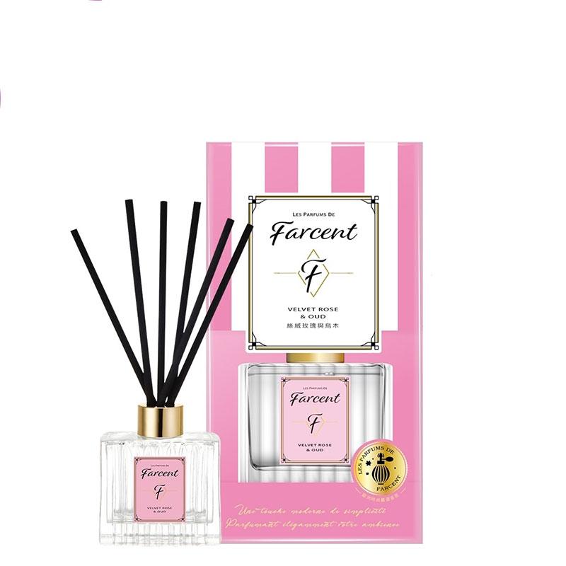 FARCENT香水室內擴香-絲絨玫瑰與烏木120ml