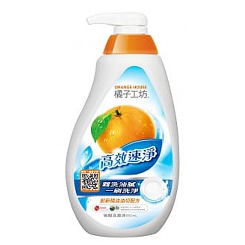 橘子工坊-碗盤蔬果洗滌液650ml高效速淨