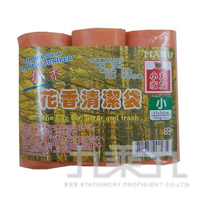 花香清潔袋 檜木3入(小)