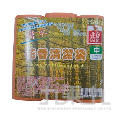 花香清潔袋 檜木3入(中)