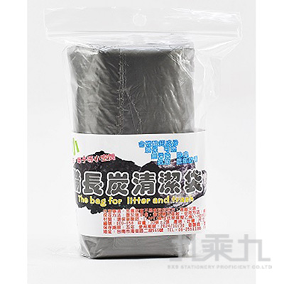 小丸家族長備炭-XS特小清潔袋(30張)
