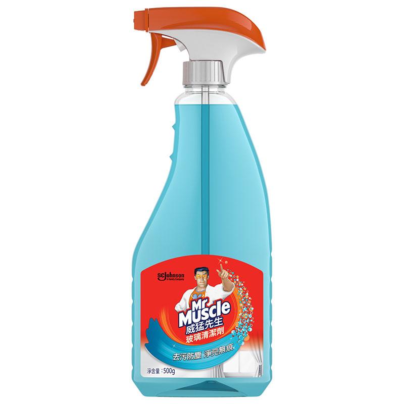 新威猛玻璃清潔劑(噴頭)500g