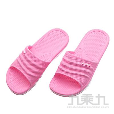 樂活休閒中性拖鞋-桃37/38 71016