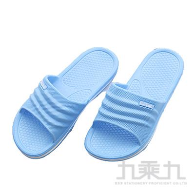 樂活休閒中性拖鞋-水藍37/38 71016