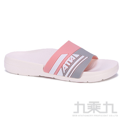 ATTA運動風圖紋室外拖鞋-粉25 91014