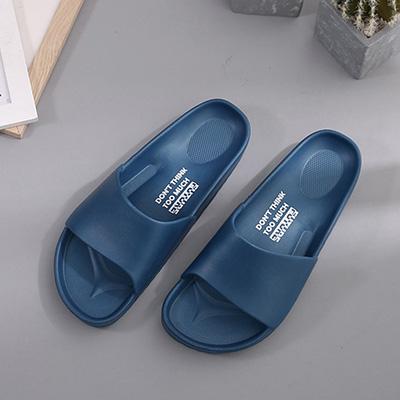 流線活力室外拖鞋-深藍29 91025