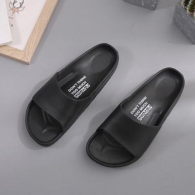 流線活力室外拖鞋-黑27 91025